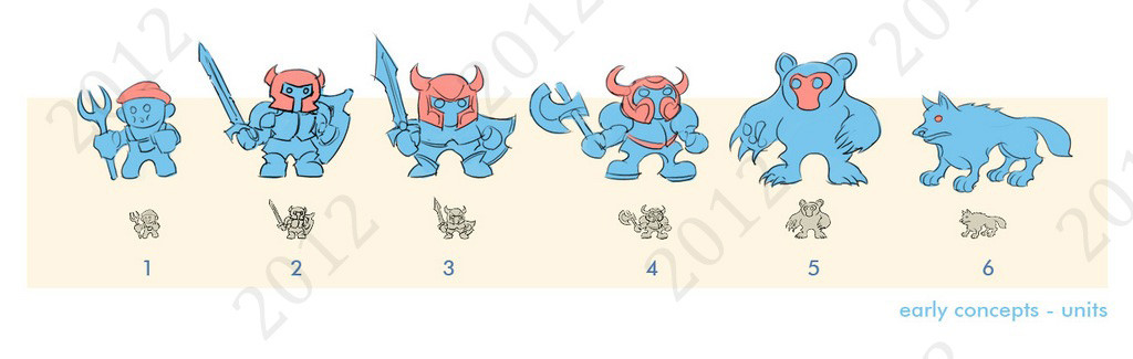 Early unit concepts